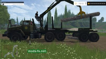 Мод Урал-4320 для Farming Simulator 2015
