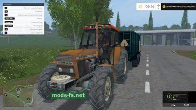Мод трактора Ursus-1604