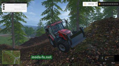 Мод трактора Zetor Proxima 120