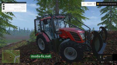 Трактор для лесозаготовки