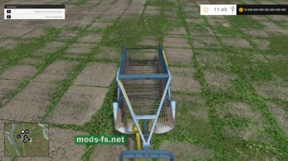 Мод AGROMET-PIONIER Z609 DIGGER