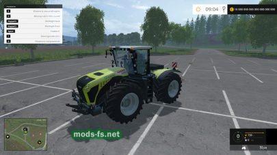Трактор CLAAS Xerion 4500 для FS 2015