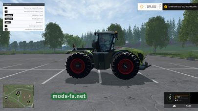 Мод CLAAS Xerion 4500 для CLAAS Xerion 4500