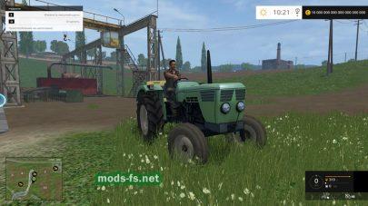 Мод трактора Deutz-4506
