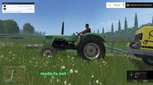 Трактор без кабины для FS 2015