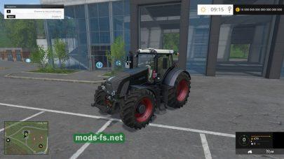 Мод трактора Fendt 936 Vario