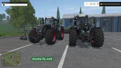 Два больших трактора Fendt для FS 2015