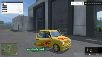 Тюнингованный Мод FIAT 126P