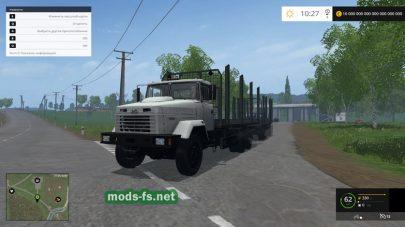 Мод КрАЗ-6233 для леса