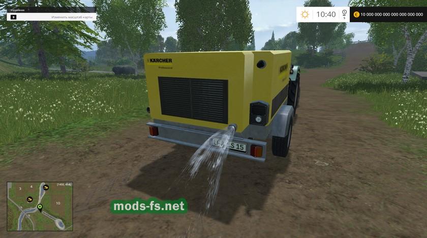Скачать моды для farming simulator 2017 керхер
