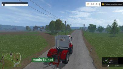 Мод измененного трактора Кировец