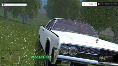 Мод легкового автомобиля «Линкольн»