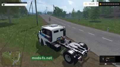 Мод тягача Mercedes для FS 2015
