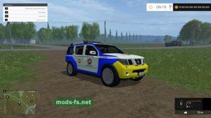 Nissan Pathfinder Police
