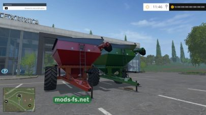 Мод Unverferth 6500 Grain Cart