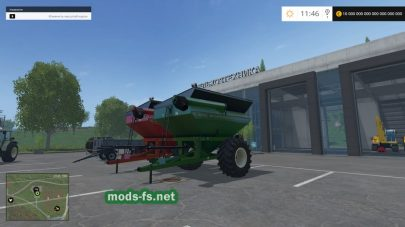 Мод бункера-перегрузчика Unverferth 6500