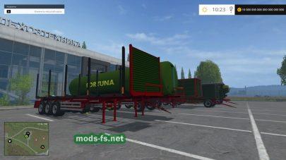 Подборка прицепов Fortuna для FS 2015
