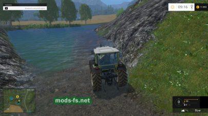 озеро в Фермер Симулятор 2015