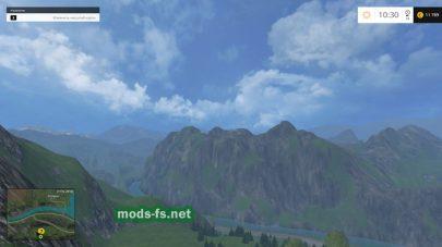 горы в игре FS 2015