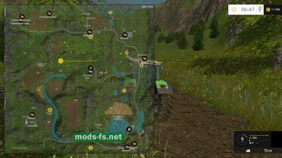 Карта Регион-04 для Farming Simulator 2015