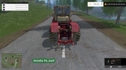 Мод трактора Кировец К-710