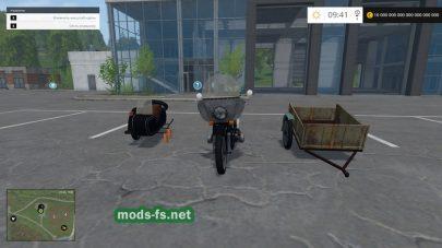 Мод мотоцикла Урал М-67 36