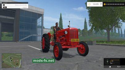Мод трактора Valmet-359D