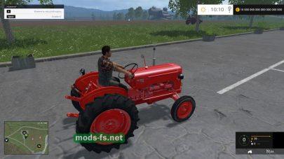Мод трактора без кабины