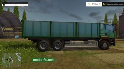 Мод MAN Grain Truck самосвал