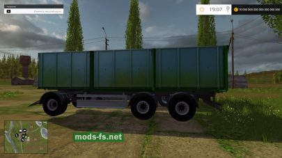MAN Grain Truck & Trailer