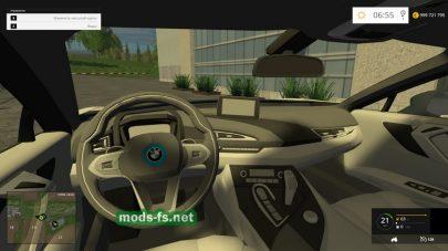 Мод BMW i8