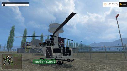 Вертолет в Farming Simulator 2015