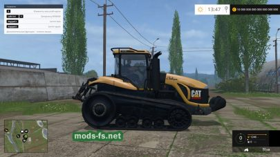 CAT CHALLENGER MT865 для Farming Simulator 2015