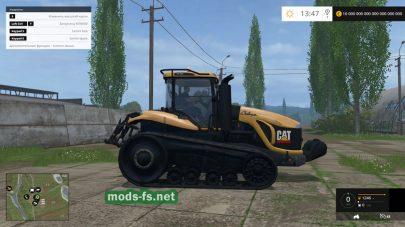 CAT CHALLENGER MT865 для Farming Simulator 2015