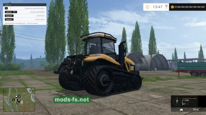 Мод трактора CAT CHALLENGER MT865
