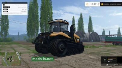 Мод трактора CAT CHALLENGER MT865