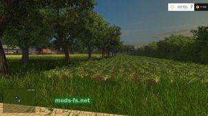 Карта с огородами для Фермер Симулятор 2015