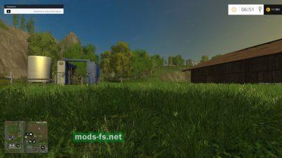 Карта Дары Кавказа для Farming Simulator 2015