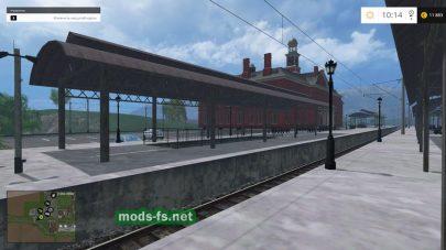 Вокзал на карте