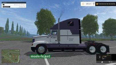 Мод тягача Freightliner FLD