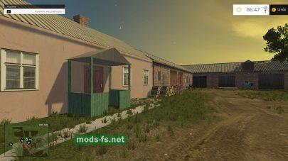 Поселок в FS 2015