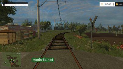 Железная дорога в игре