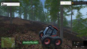 Гусеничный трактор Geotrupidae для FS 2015