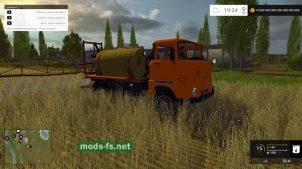 Мод самоходного опрыскивателя для Farming Simulator 2015