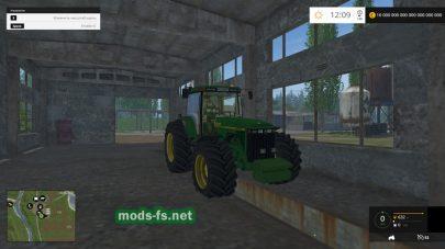 Большой трактор john deere