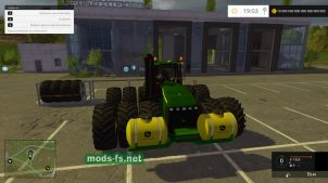 Мод John Deere 9630 для Farming Simulator 2015