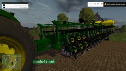 Большая сеялка для Farming Simulator 2015