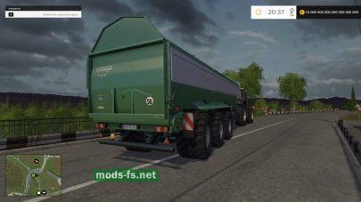 Krampe Bandit 980 для FS 2015