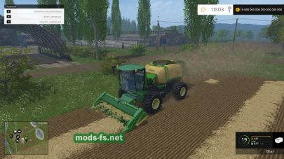 Krone Baler Prototype для Farming Simulator 2015