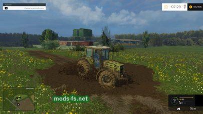 Украинская карта для Farming Simulator 2015